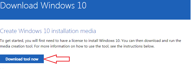 You get Windows 10 free download from Microsoft by use Media Creation Tool
