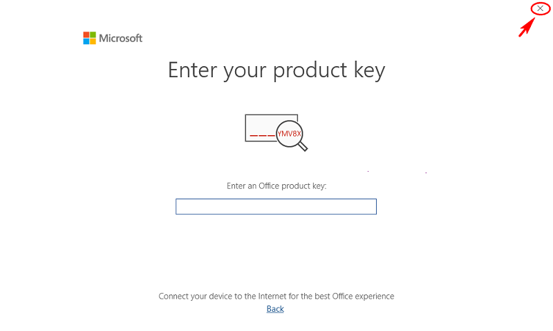 enter-microsoft-office-2019-product-key